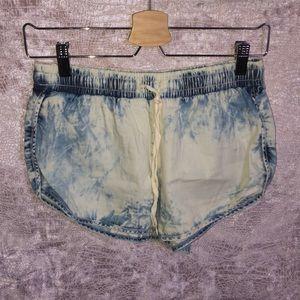 Forever 21 Tie-Dye Shorts.